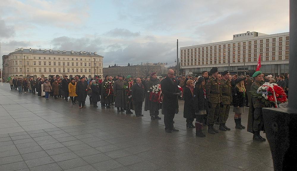 Warszawskie uroczystości 97. rocznicy wybuchu Powstania Wielkopolskiego