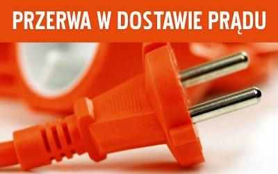 Przerwa w dostawie energii elektrycznej w Przemęcie, Błotnicy i Borku