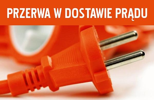 Przerwa w dostawie energii elektrycznej na terenie wsi: Siekowo, Bucz Nowy oraz Kluczewo