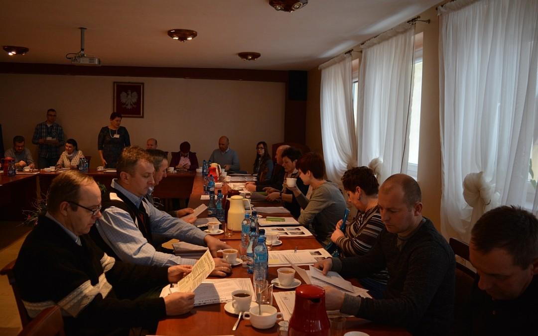Robocze spotkanie Wójta z sołtysami wsi Gminy Przemęt.