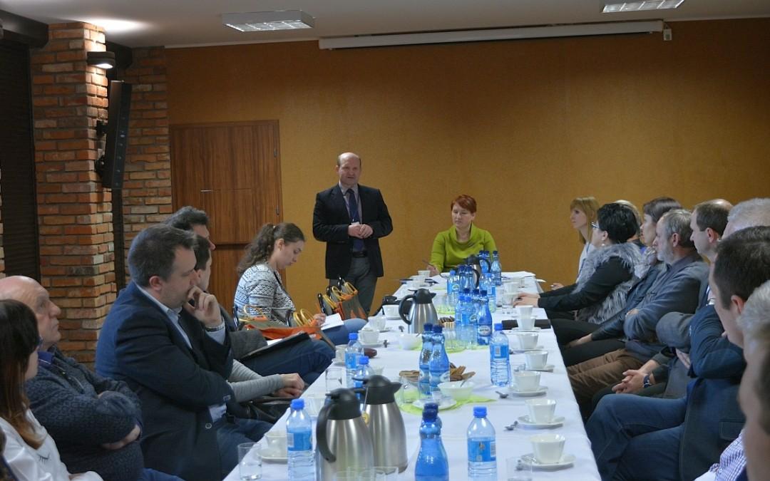 Spotkanie Wójta Gminy Przemęt z przedsiębiorcami