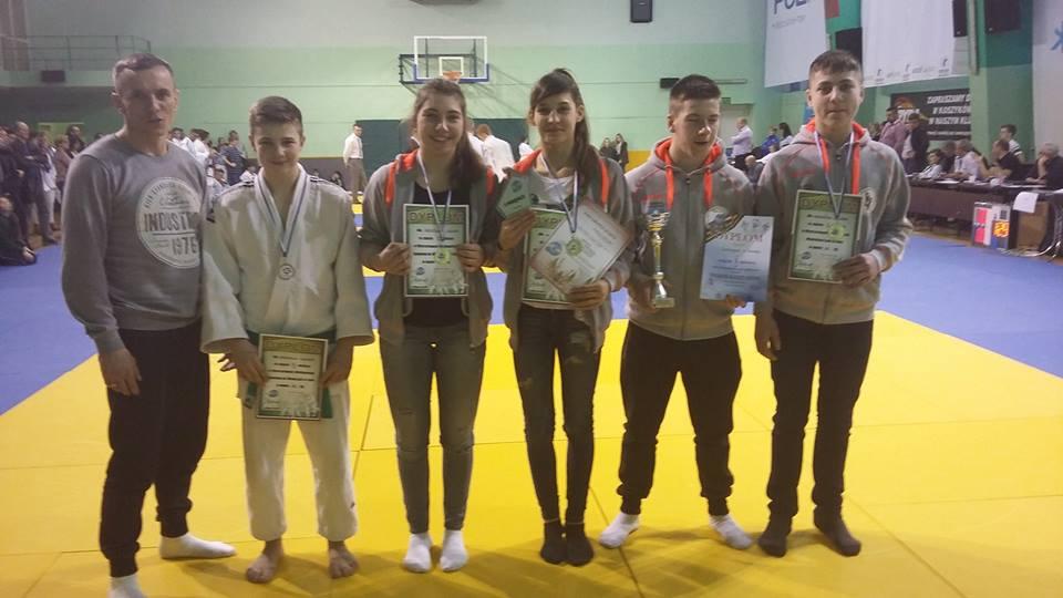 Sukces UKS Pohl Judo Przemęt w Mistrzostwach Województwa Wielkopolskiego w Judo