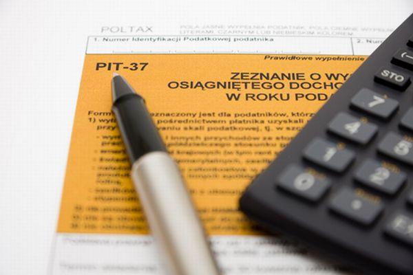 Odbiór formularzy PIT w Urzędzie Gminy