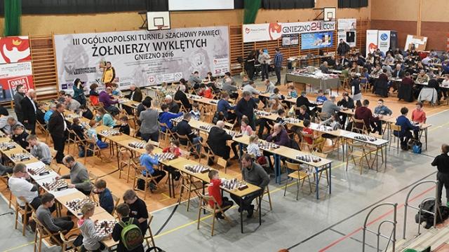 """III Ogólnopolski Turniej Szachowy Pamięci """"Żołnierzy Wyklętych"""""""