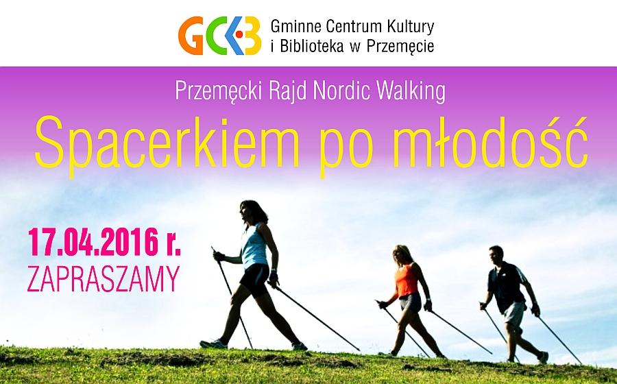Przemęcki Rajd Nordic Walking – ZAPROSZENIE
