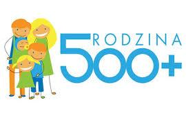"""Informacja dotycząca realizacji programu """"RODZINA 500+"""""""
