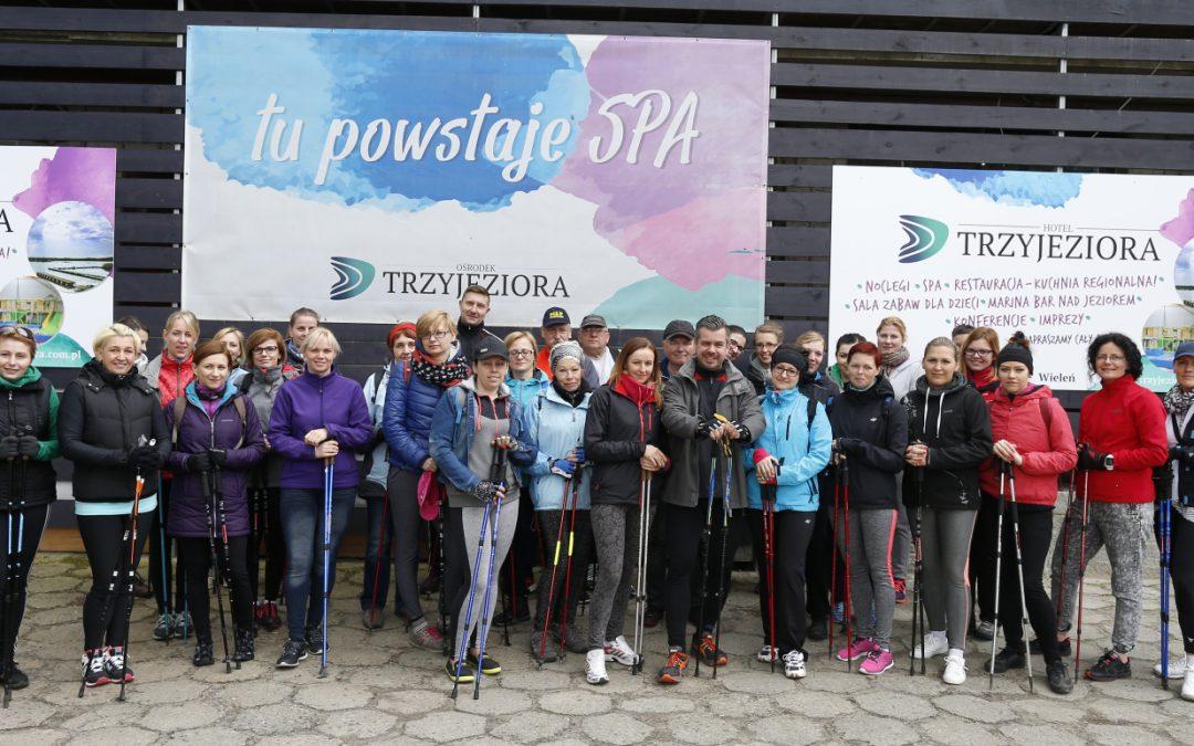 Sezon zainaugurowany czyli Przemęcki Rajd Nordic Walking