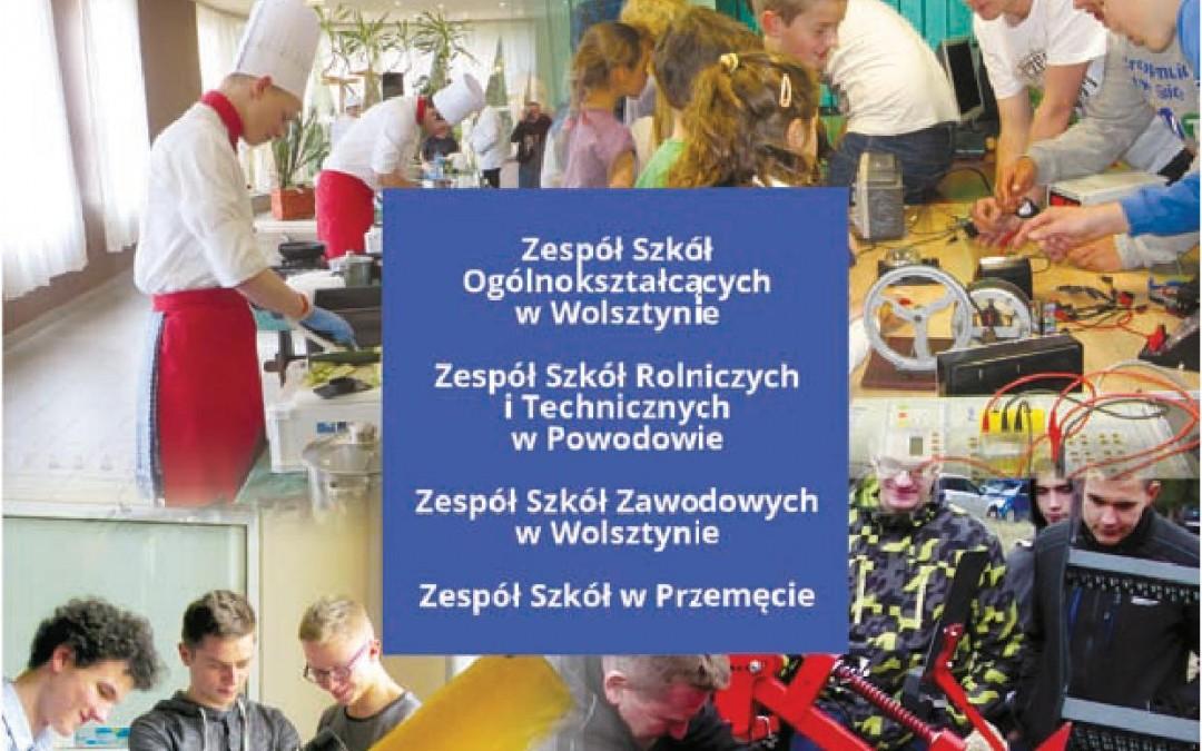 Informator dla kandydatów do szkół ponadgimnazjalnych w powiecie wolsztyńskim