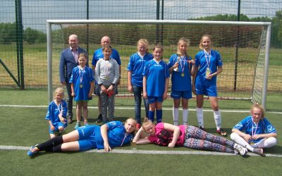 Turniej Orlika o Puchar Zastępcy Wójta Gminy Przemęt w Piłce Nożnej Dziewcząt