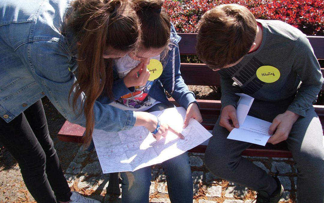 Konkursowa gra terenowa czyli w poszukiwaniu wiedzy