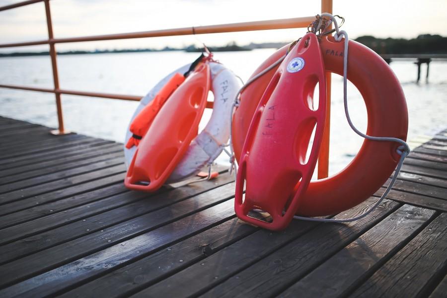 Praca dla ratownika – Plaża Osłonin