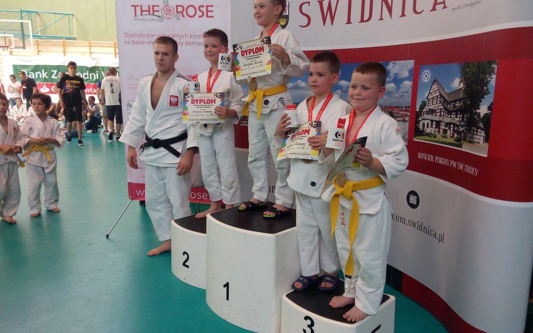 UKS POHL Judo Przemęt na zawodach w Świdnicy
