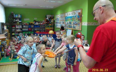 """""""Bezpieczne wakacje"""" w przedszkolu w Buczu"""
