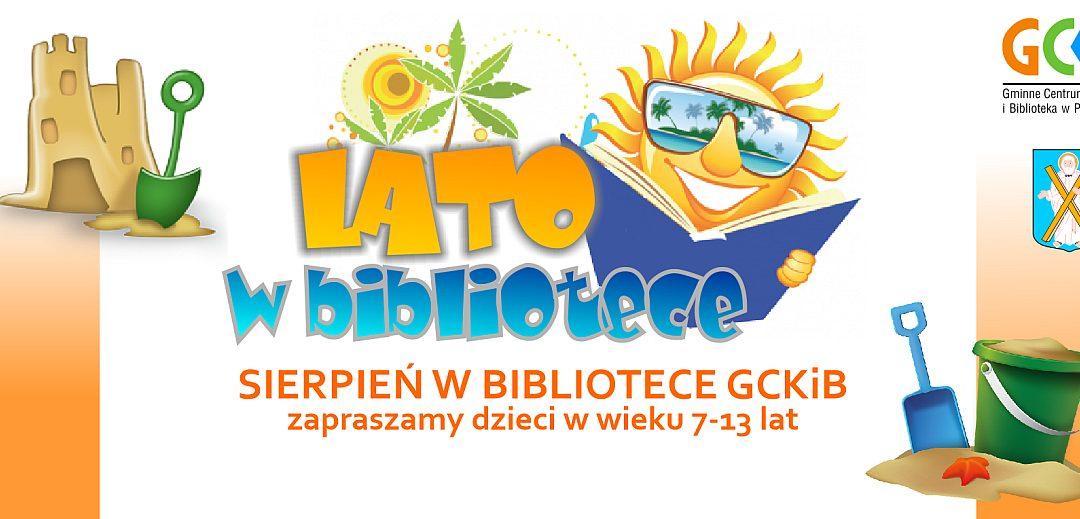 Sierpień w BIBLIOTECE