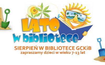 Zapraszamy na LATO W BIBLIOTECE!