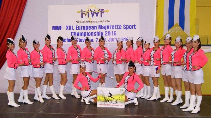 Debiut przemęckich mażoretek na Mistrzostwach Europy