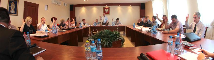 XLIII sesja VII kadencji Rady Gminy Przemęt