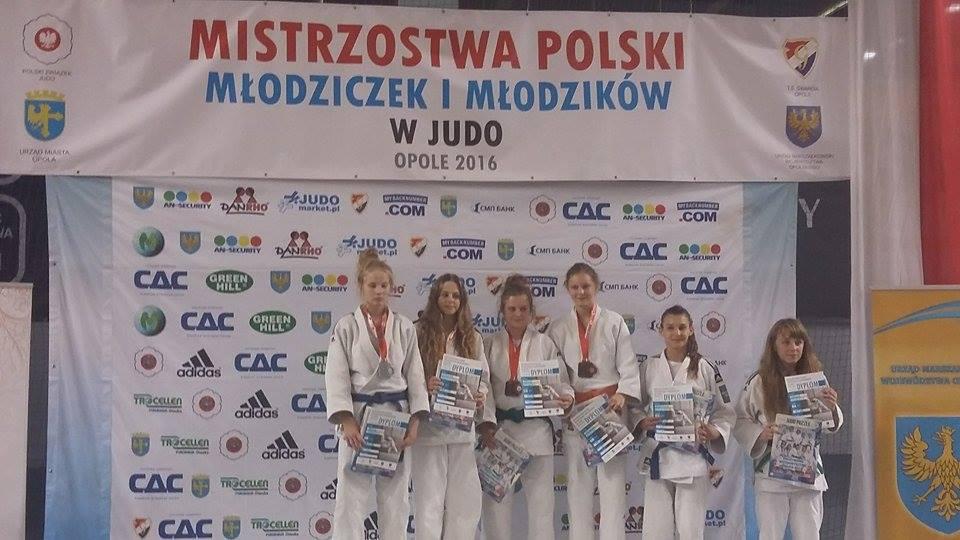 UKS POHL JUDO PRZEMĘT na Mistrzostwach Polski Młodzików i Młodziczek w Opolu