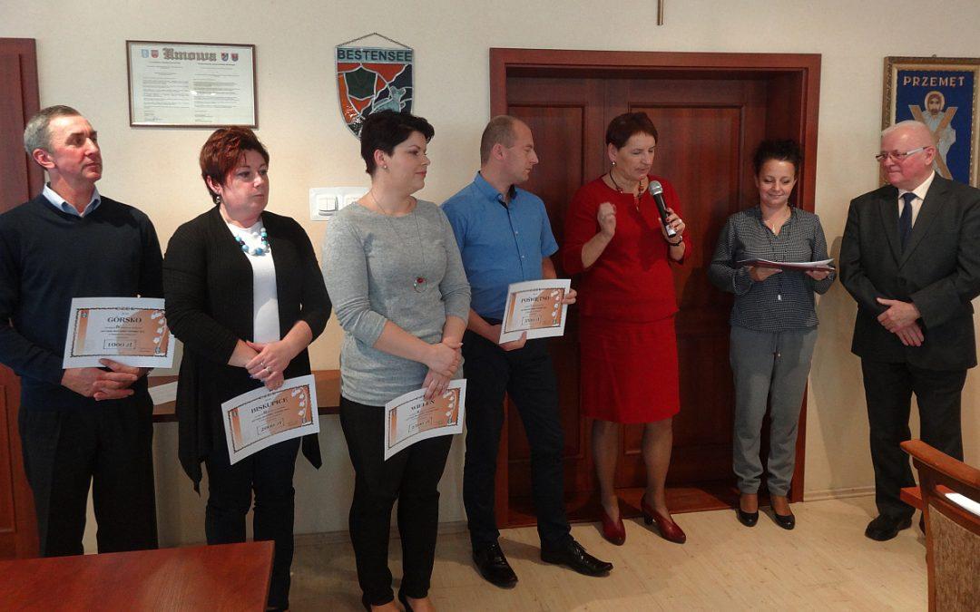 """Nagrody """"Aktywna Wieś Gminy Przemęt"""" wręczone!"""
