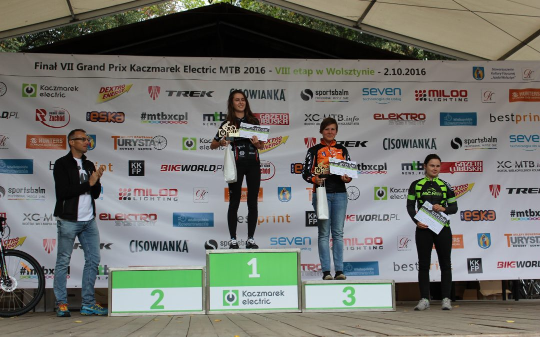 Sukcesy zawodników z Przemętu w VII finale Grand Prix Kaczmarek Electric MTB 2016