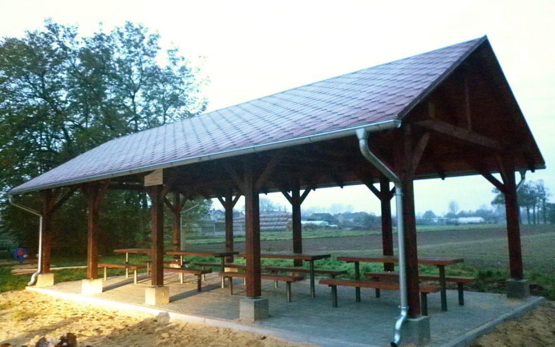 Powstała wiata rekreacyjna w miejscowości Popowo Stare