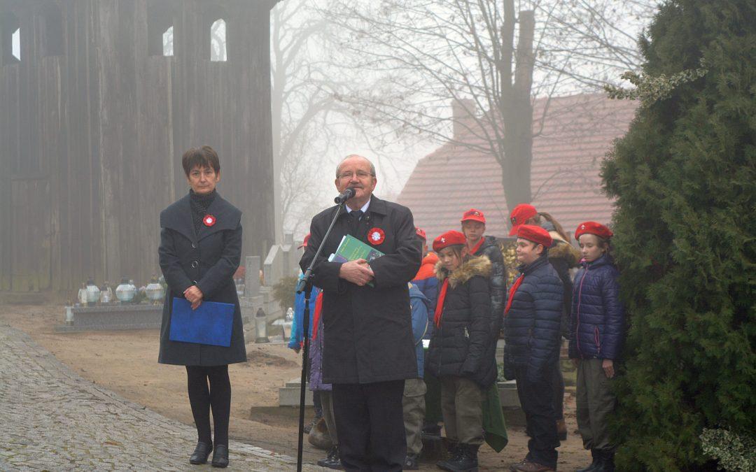 Uroczystość znakowania grobów Powstańców Wielkopolskich w Buczu – 25.11.2016 r.