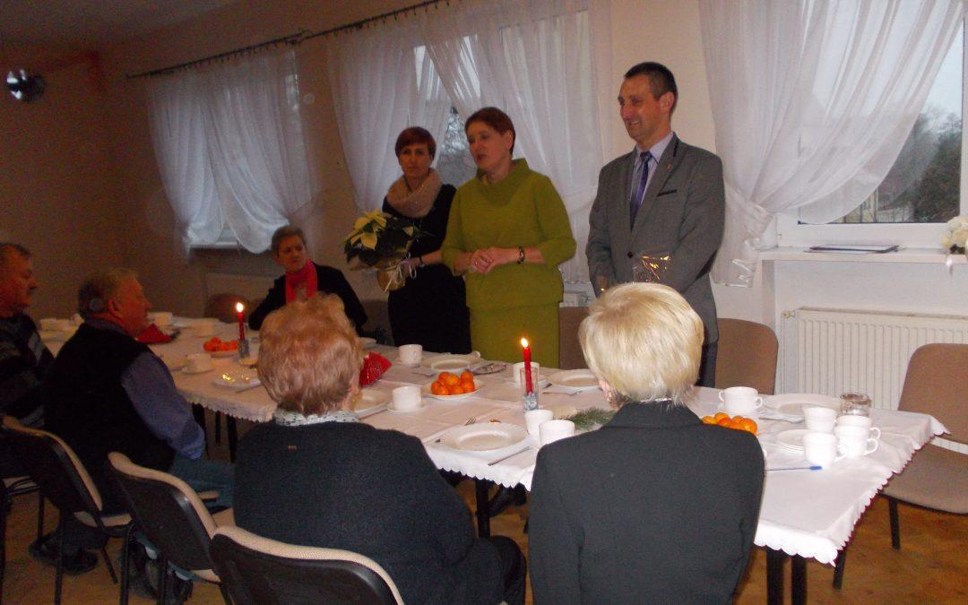 Spotkanie opłatkowe emerytów w Kaszczorze