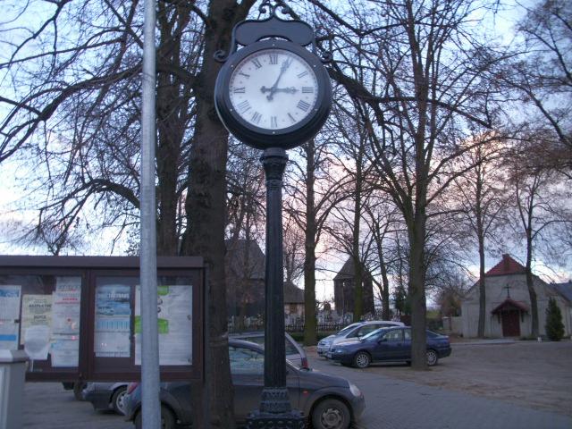 Zegary uliczne w Gminie Przemęt