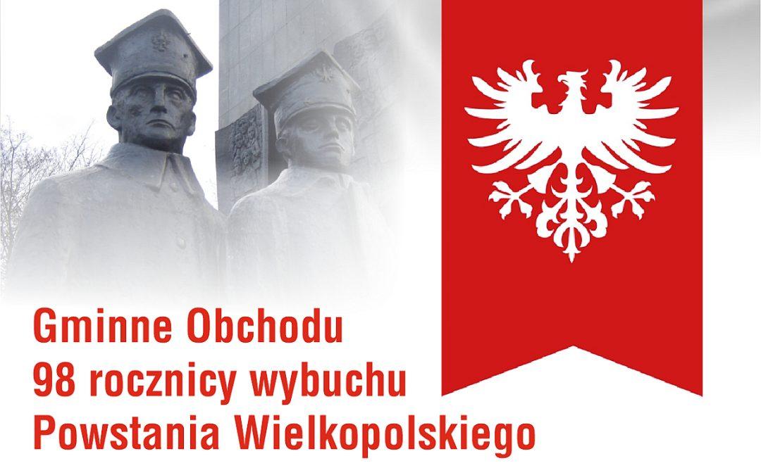 Obchody 98 rocznicy wybuchu Powstania Wielkopolskiego