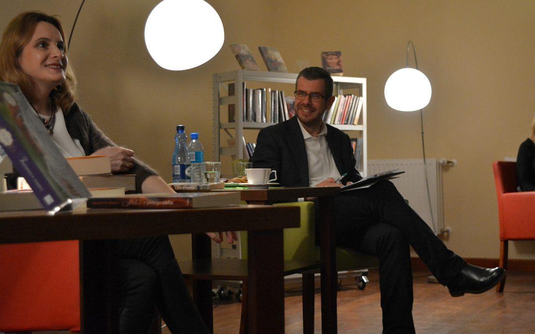 Spotkanie autorskie z Krystyną Mirek w GCKiB w Przemęcie