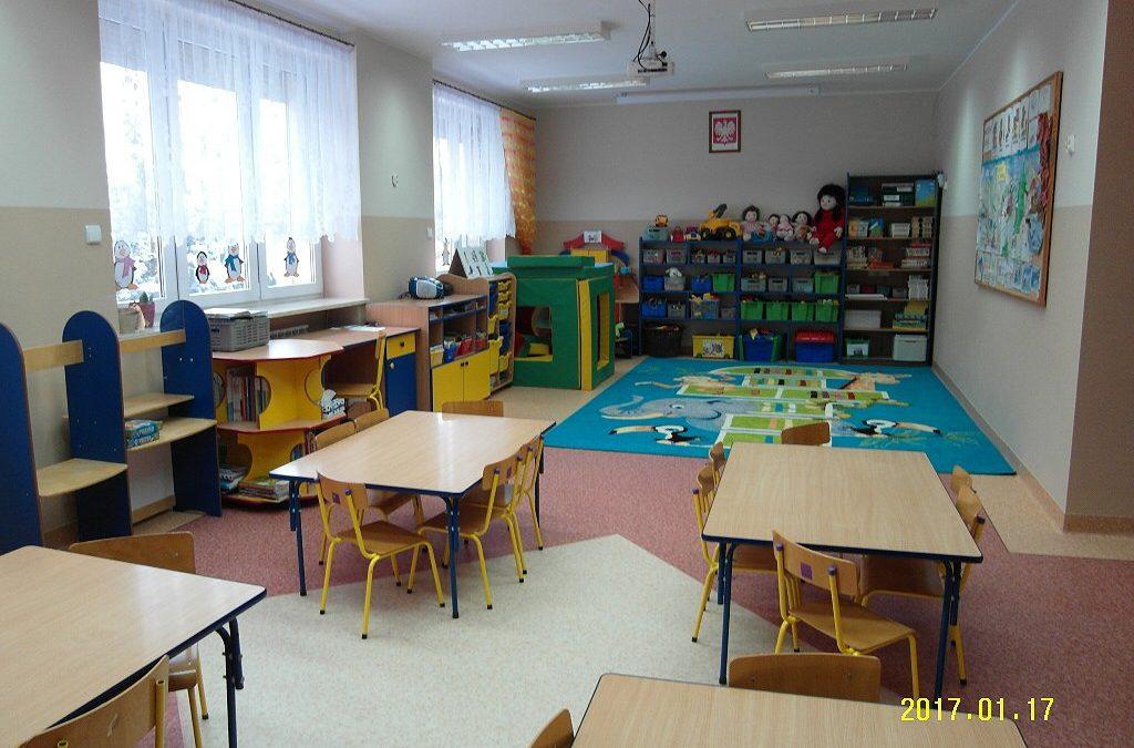 Remont sali w Przedszkolu w Buczu