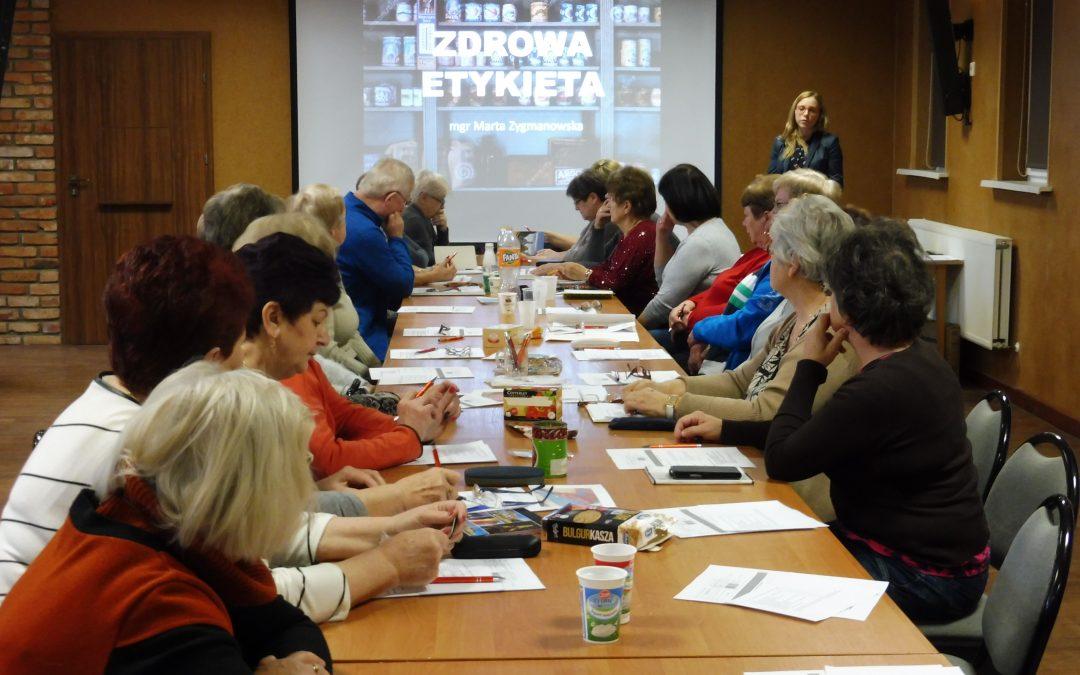 Pierwsze spotkania sekcji zdrowia i języka angielksiego