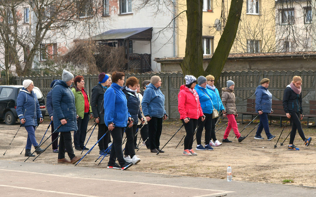 Nordic Walking na zajęciach UTW w Przemęcie
