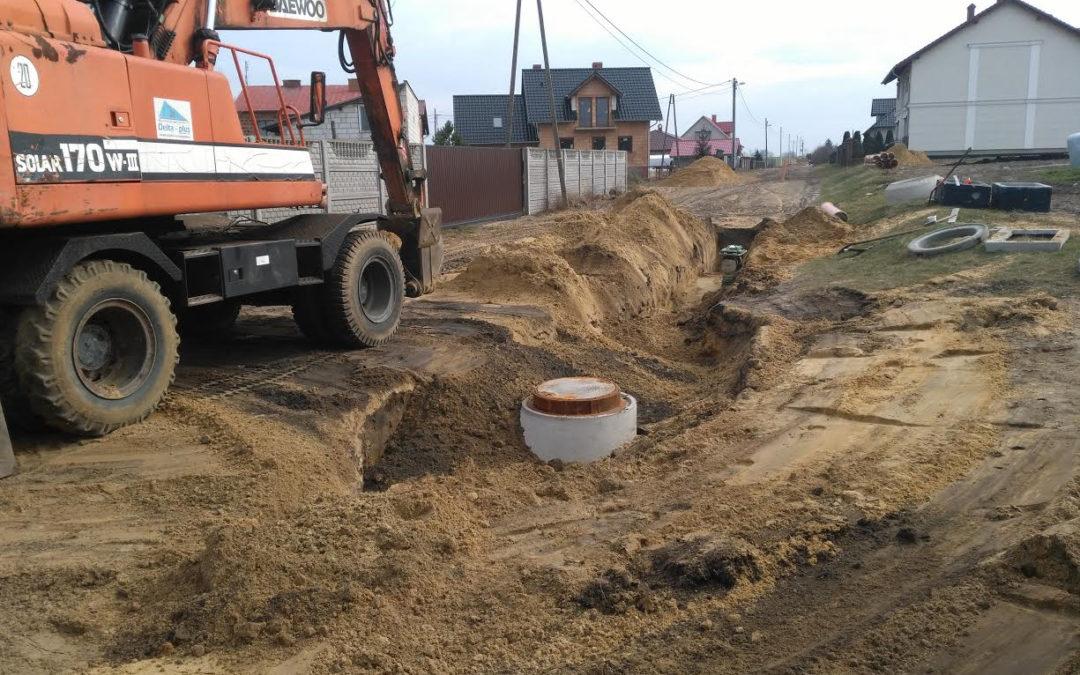 Budowa ulicy Głębokiej w miejscowości Przemęt wraz z odwodnieniem