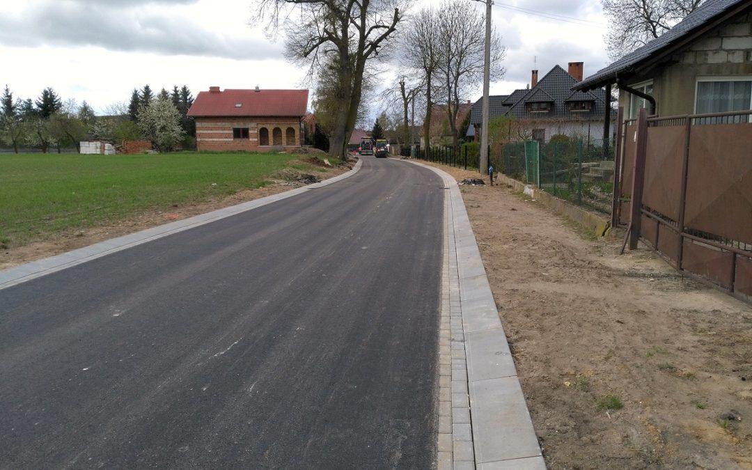 Budowa drogi w miejscowości Kaszczor, ul. Pod Lipami
