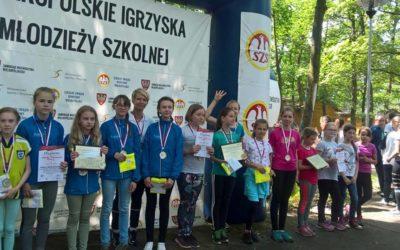 Wielkopolskie Igrzyska Młodzieży Szkolnej  W BIEGU NA ORIENTACJĘ
