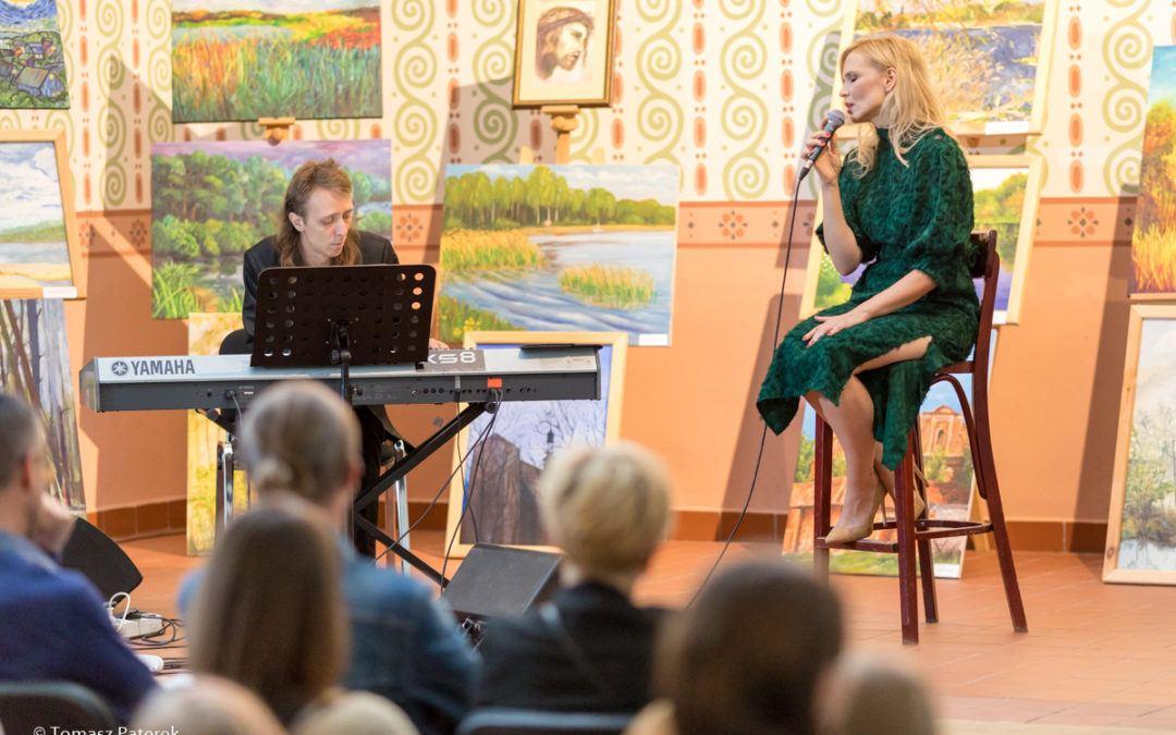 Niezwykły koncert Joanny Kondrat w Kaszczorze