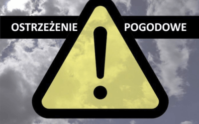 Ostrzeżenie meteorologiczne- silny wiatr