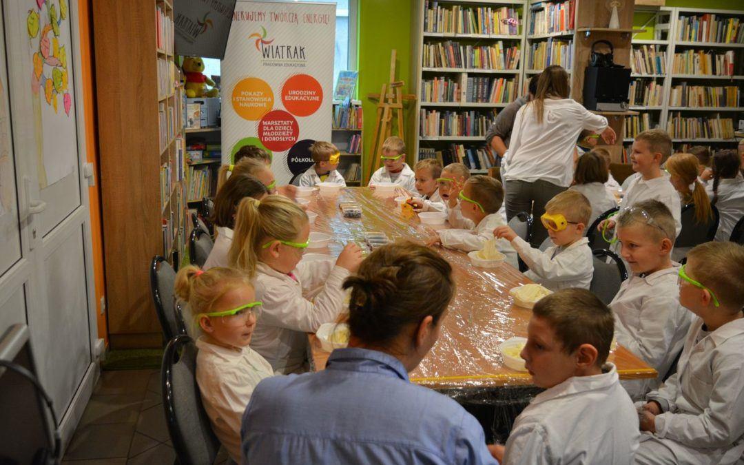 Pachnące warsztaty w bibliotece GCKiB w Przemęcie