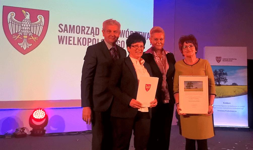 Nagroda dla Stowarzyszenia Przyjaciół Moch za piknik ekologiczny!