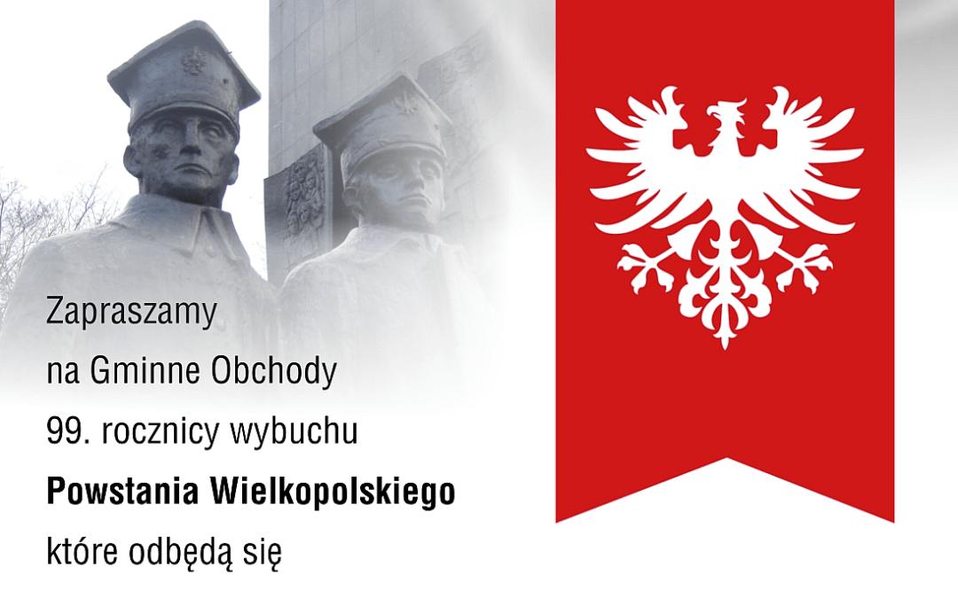 99. rocznica wybuchu Powstania Wielkopolskiego i wyzwolenia Przemętu