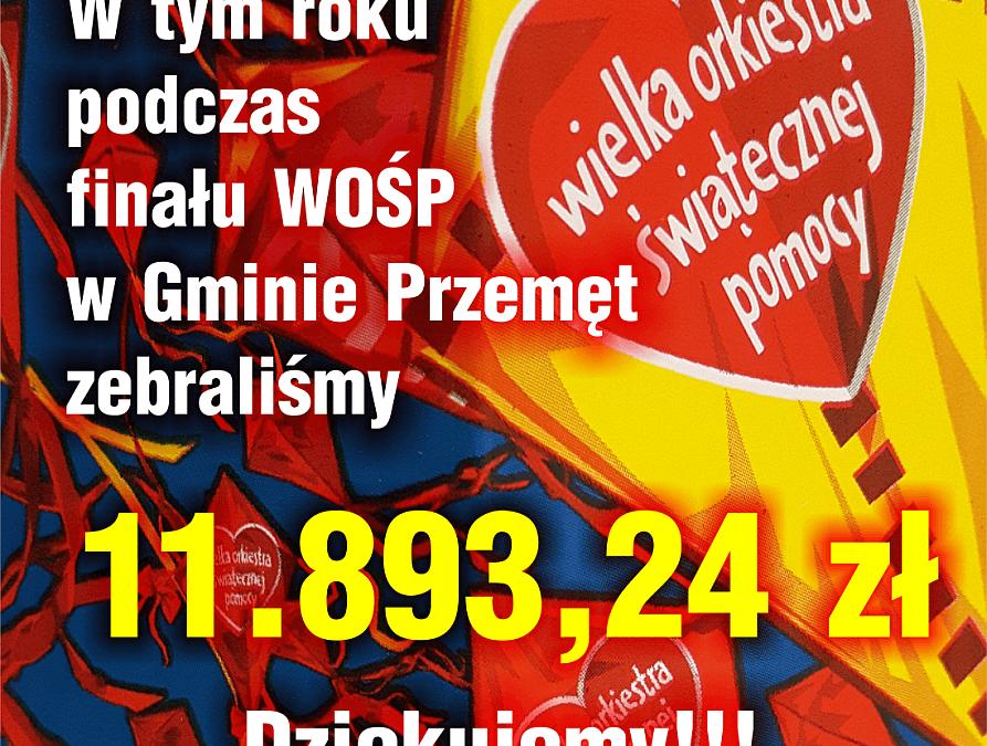 Rekord na finale WOŚP w Przemęcie