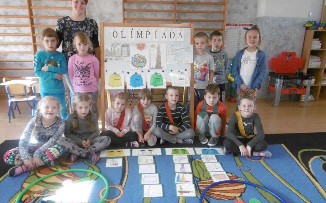 II miejsce Przedszkola Samorządowego w Mochach w konkursie ekologicznym