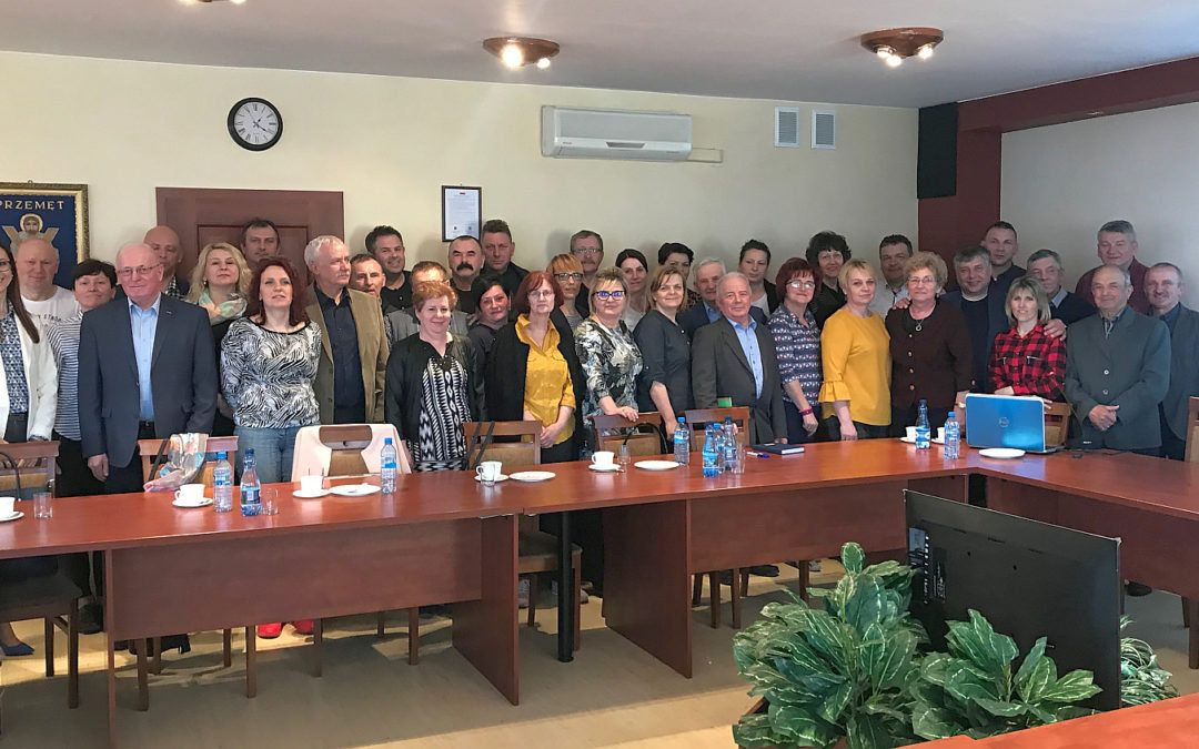 Robocza wizyta delegacji z Gminy Kobylnica