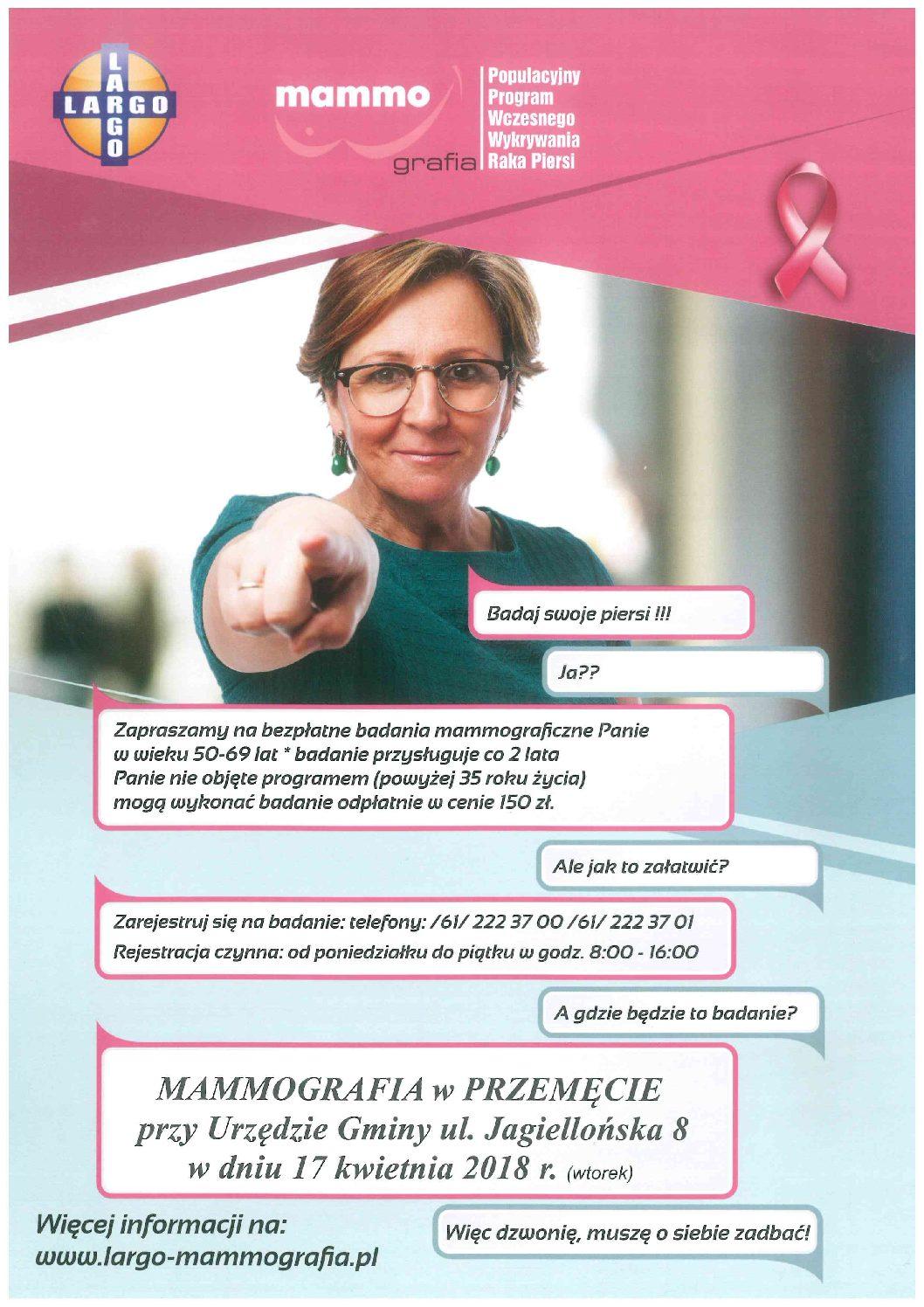 Mammografia w Przemęcie