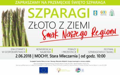 Zapraszamy na Przemęckie Święto Szparaga – 2.06.2018, Mochy