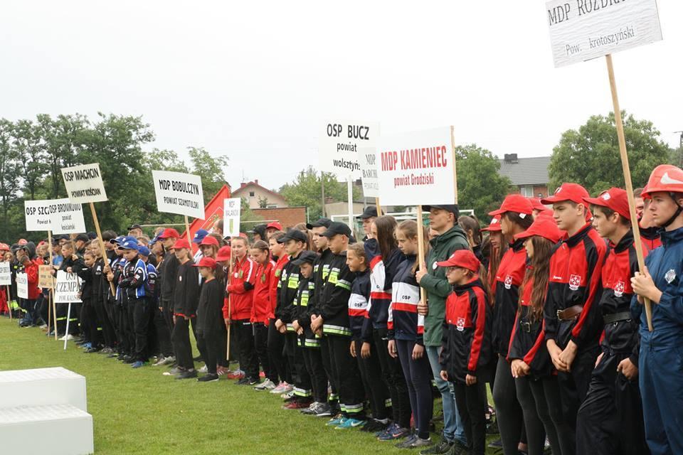 MDP Barchlin i Bucz na X Wojewódzkich Zawodach Sportowo-Pożarnicze w Tuliszkowie