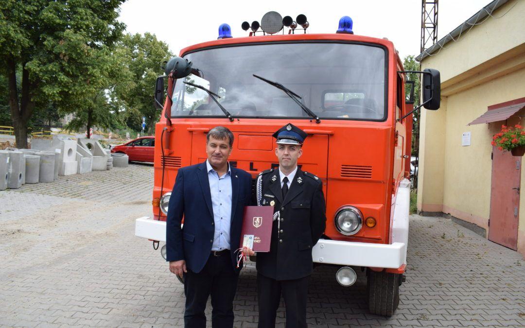 Strażacki Jelcz z OSP Mochy posłuży jeszcze na Ukrainie