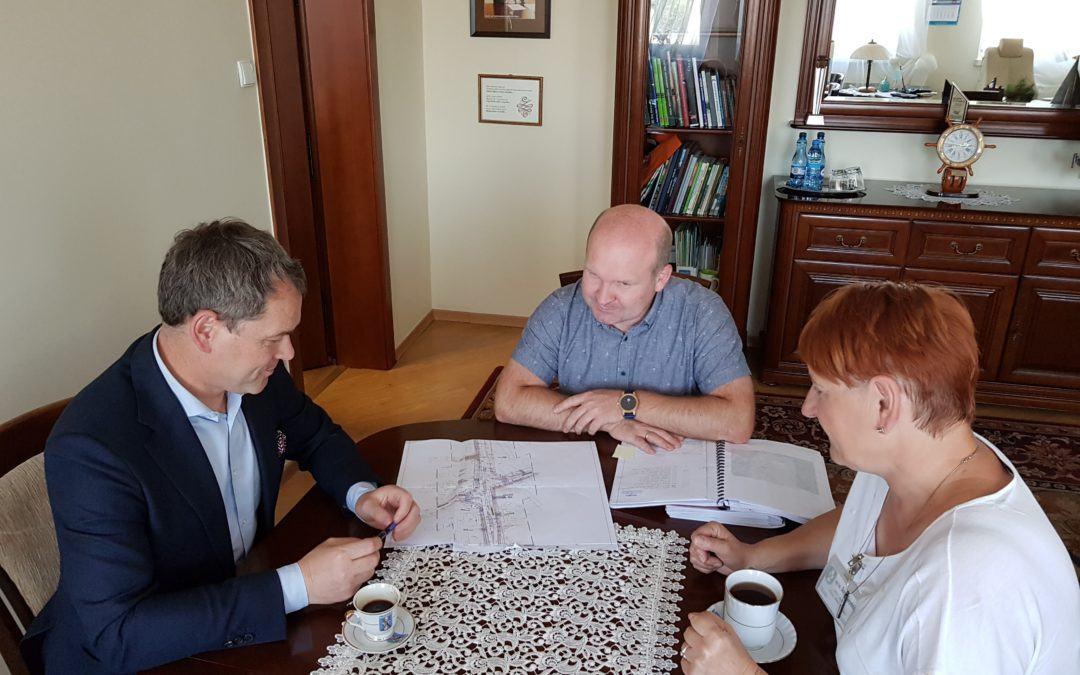Spotkanie z Dyrektorem Wielkopolskiego Zarządu Dróg Wojewódzkich