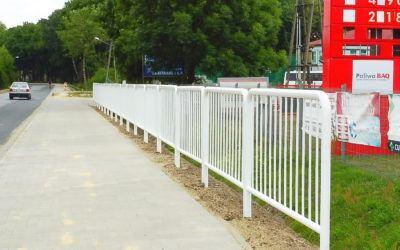 Nowy chodnik w Buczu